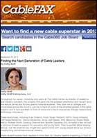 article Finding the Next Generation of Cable Leaders